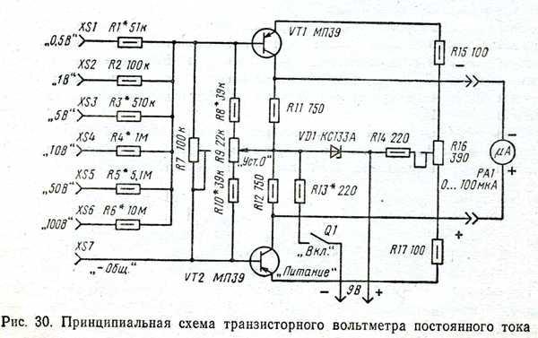 Как сделать вольтметр переменного тока в постоянного тока