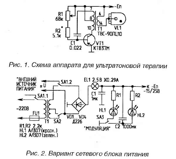 d arsonval схемы аппаратов
