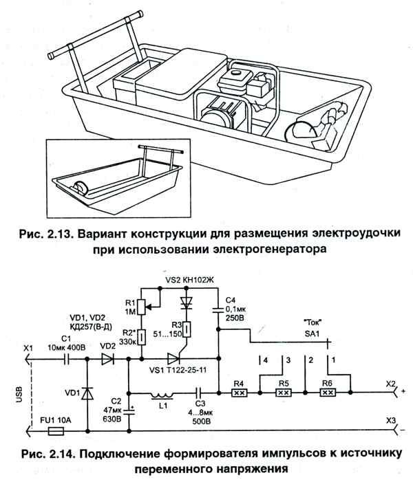 схем электроудочек